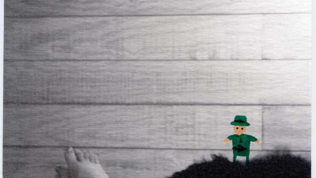 leprechaun hallucination photo paintings